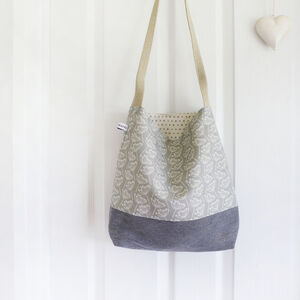 Floral Cow Parsley Day Bag