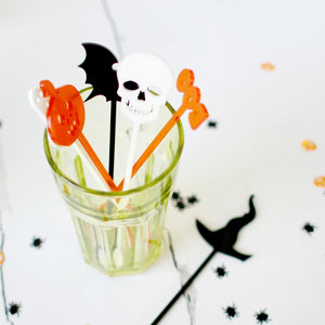 Halloween Drink Stirrers - party decorations