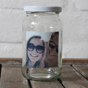 Personalised Photo Message Jar - kitchen