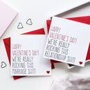 Rocking Marriage/Relationship Valentine's Day Card