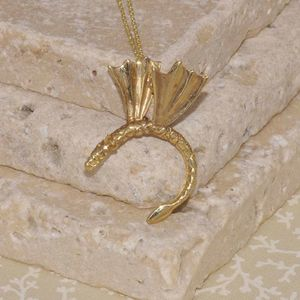 Gold Winged Dragon Pendant - view all new