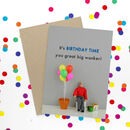 Birthday Wanker Funny Card