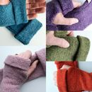 Pure Wool Fingerless Gloves
