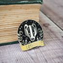 Loyal Badger Enamel Pin