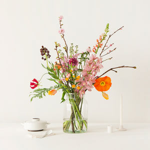 One Year Flower Bouquet Subscription - for her