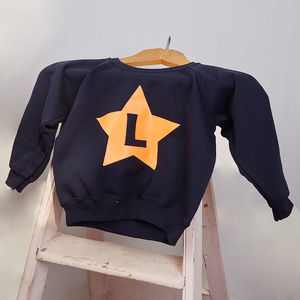 Personalised Child's Initial Sweater - clothing