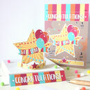 Bright Star Congratulations Card, Cut Out And Keep