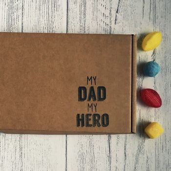 My Dad My Hero Sweet Box