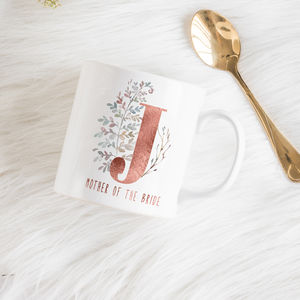 Mother Of The Bride Personalised Gift Mug