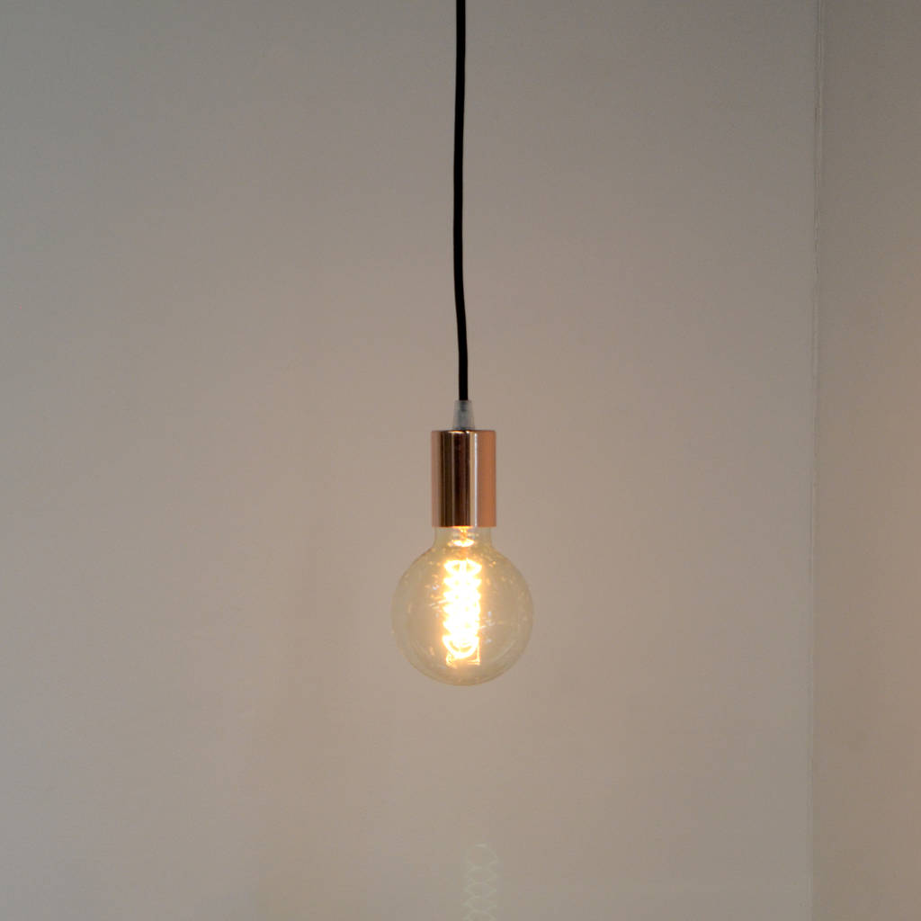 Copper Spider Pendant Light By Mr J Designs