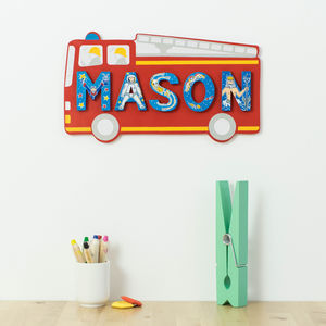 Name Plaque And Letters For Boys And Girls - baby's room