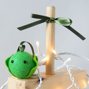 Christmas Sprout Tree Decoration - tree decorations