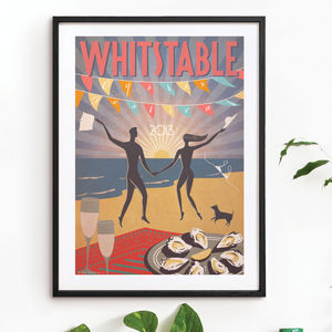 'Whitstable Oyster Festival 2013' Art Print
