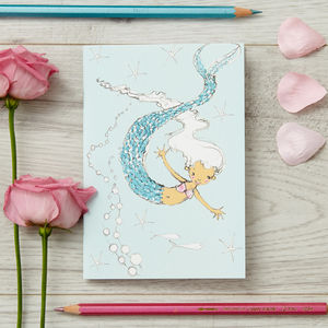 Stocking Filler Mermaid Personalised Notebook - shop by price