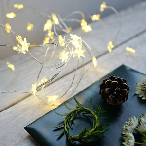 Star Battery Operated String Lights - lighting