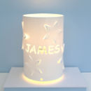 Personalised Star Table Lamp Ideal Christening Gift