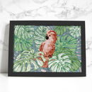 Tropical Cockatoo Signed Giclee Art Print