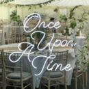 Once Upon A Time LED Neon Sign