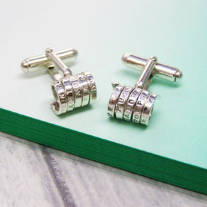 Personalised Scroll Cufflinks