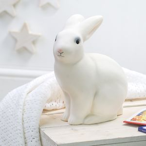 White Rabbit Lamp - baby's room