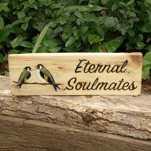 Personalised Garden Signs With Stake