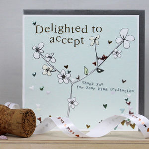 Wedding Acceptance - wedding cards