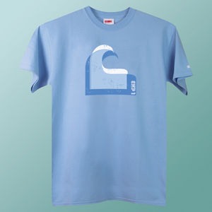 Men's Wave T Shirt