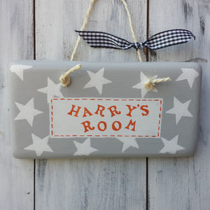 Personalised Door Sign - gifts for children