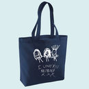 Bag Personalised With Your Child's Drawing