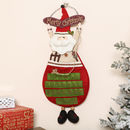 Merry Christmas Santa Claus Fabric Advent Calendar