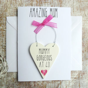 Happy Birthday Mum Personalised Card