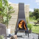 Extra Large Contemporary Modern Chiminea