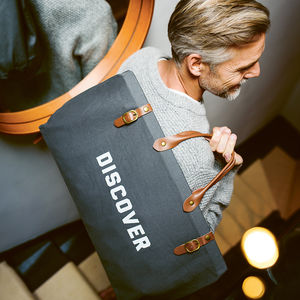 Men's Weekender Bag - gifts for brothers