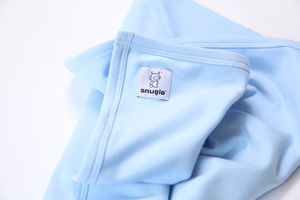Snuglo™ Supersoft, Sky Blue Baby Blanket