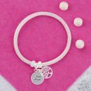 Silver Best Mum Family Tree Of Life Bracelet