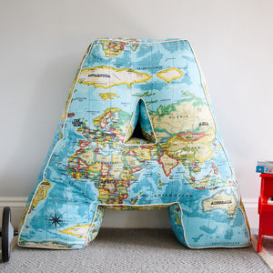 Large Letter Cushion - children's cushions