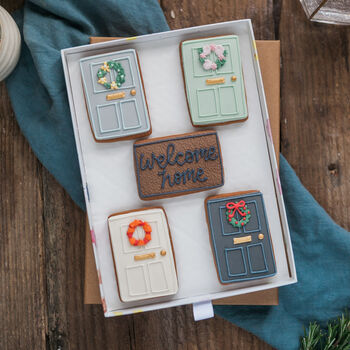 Welcome Home, New Home Biscuit Gift Set