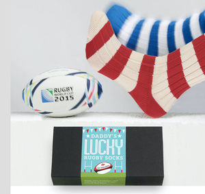 Six Nation's Rugby Supporter's Lucky Socks - sport-lover