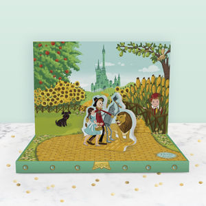 Adventures In Oz Music Box Card - view all gifts