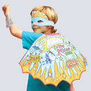 Colour In Fancy Dress Set Super Hero *With Free Gift