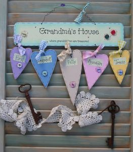 Personalised 'Grandma's House' Sign Keepsake Gift - gifts for her