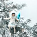 Fairy Style Christmas Decoration Snow Girl