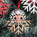 Snowflake Girl Christmas Tree Decoration
