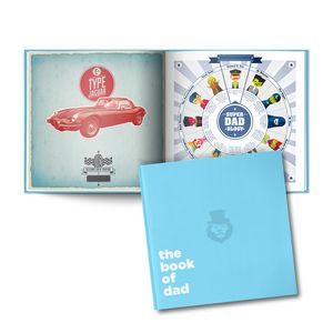 The Personalised Book Of Your Dad - keepsake books
