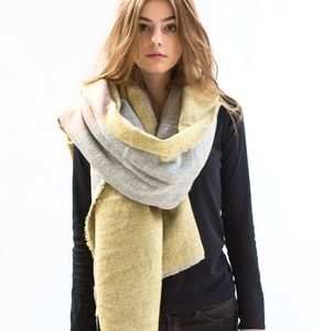 Reversible Dawn To Dusk Blanket Scarf - scarves