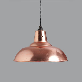 Clarence Vintage Copper Pendant Light