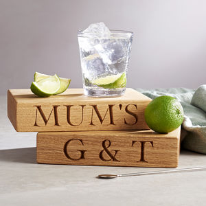 The Gin And Tonic Board - gifts for friends