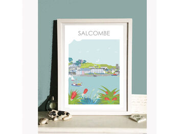 Salcombe Devon Art Print