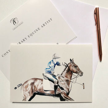Polo | Horse Greeting Card | Horse Gifts