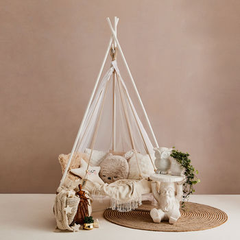 Children's Hanging Teepee Bed